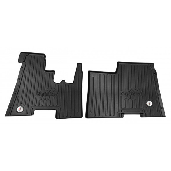 Kenworth T270 T370 T300 Minimizer Floor Mat - Automatic Transmission With Passenger Bench Seat