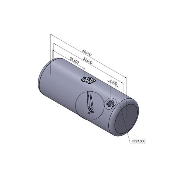 Peterbilt Fuel Tank 100 Gallon Aluminum Dimensions