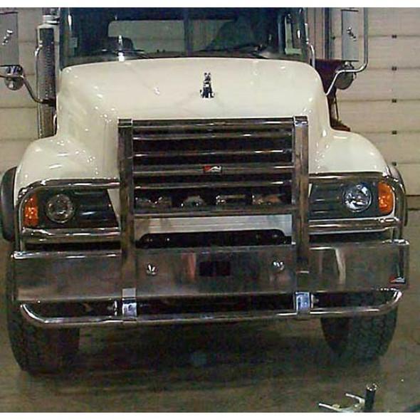 Mack Granite GU813 Set Back Axle Ali Arc Angled Front Bumper Grill Guard