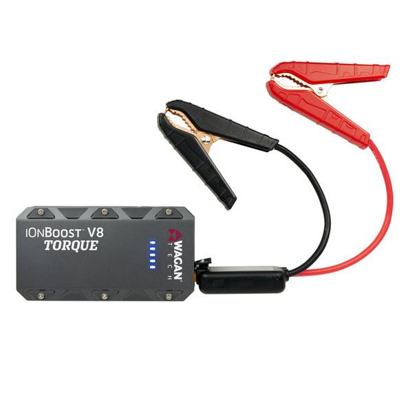 iOnBoost V8 Torque Jump Starter & Charging Station With Jump Starter Cables