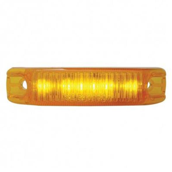 6 LED Streamline Clearance Marker Light - On