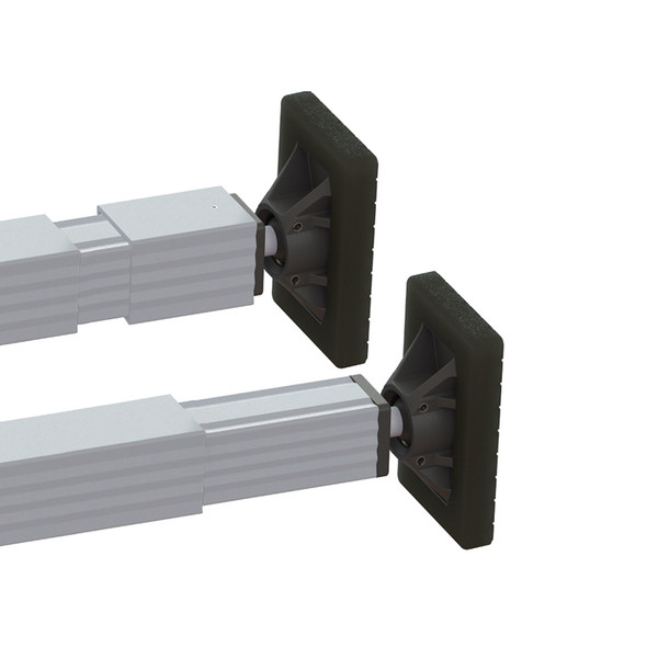 Save-A-Load SL-30 Heavy Duty Trailer Cargo Load Bar Pair With Articulating Ends - Close Up