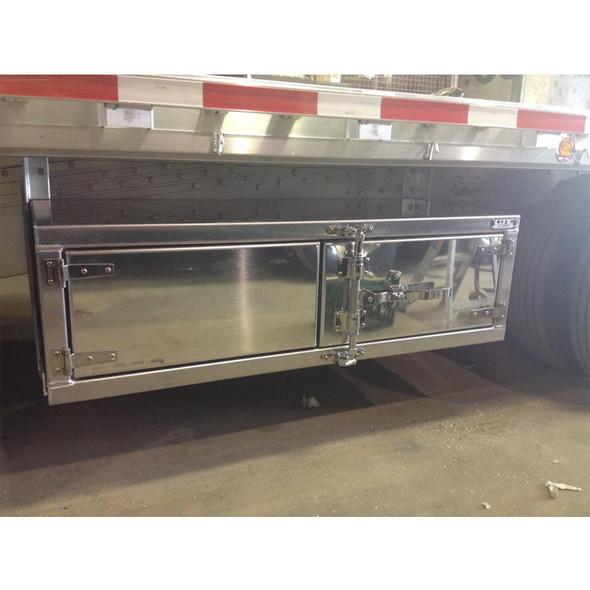 "Bar Lock With Cam Lock 72"" Underbody Tool Box On Truck 2"