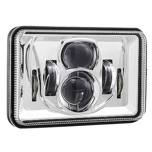 """4"""" x 6"""" LED Combination High & Low Beam Projector Headlight - Off"""