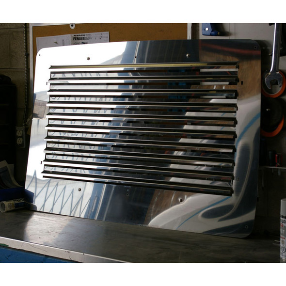 Volvo VNL Louvered Replacement Grill 2004-2018 On Truck