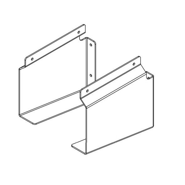 Aluminum Wood & Dunnage Holder Racks For Drop Deck Trailers