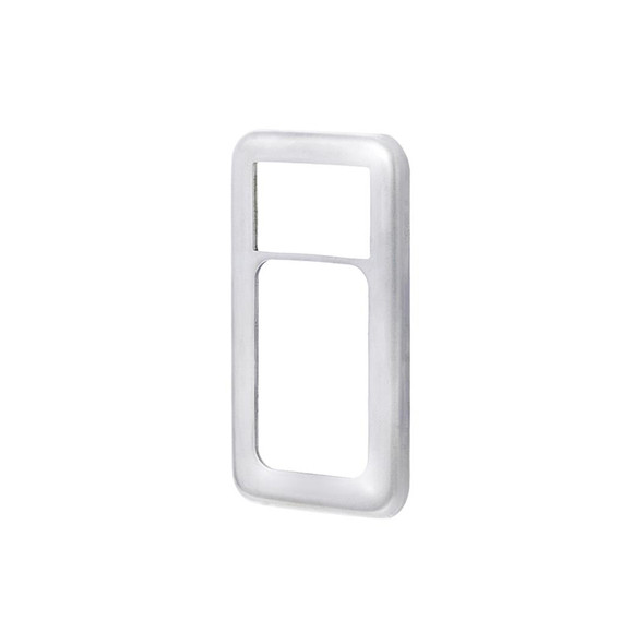 International Stainless Steel Large Paddle Switch Plate Side View