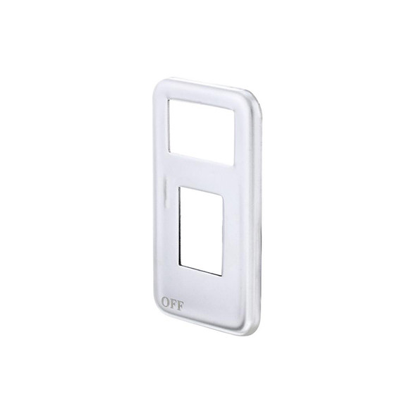 International Stainless Steel Small Paddle Switch Plate Side View