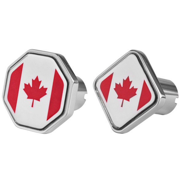 Canada Flag Tractor Trailer Air Brake Knob