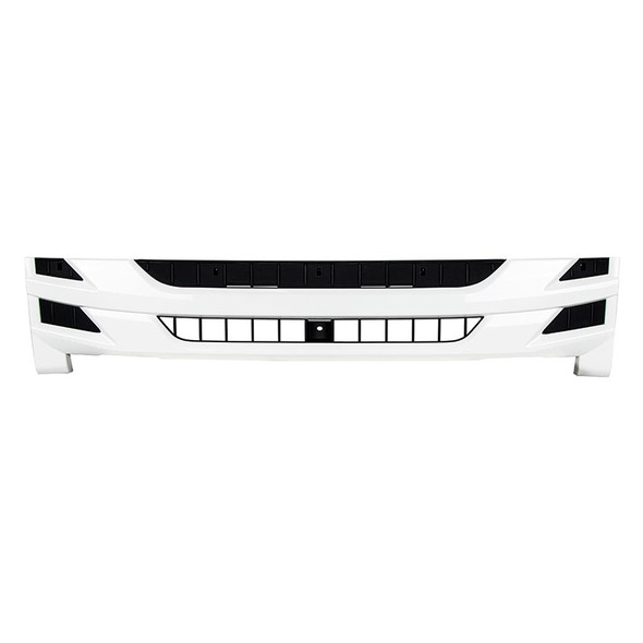 Isuzu NPR White Painted Grill 8-98244-209-1 Front View