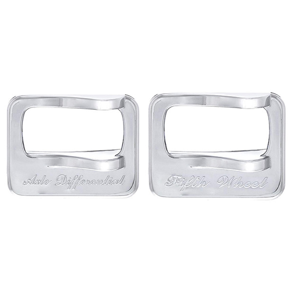 Peterbilt Chrome Switch Cover Together