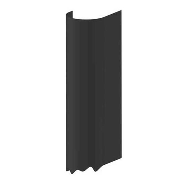 "10"" Stainless Steel Aerodynamic Muffler Guard Heat Shield 60"" Long - No Holes"