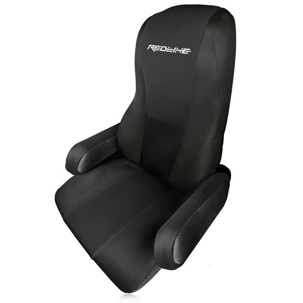Peterbilt 379 386 389 Form Fitting Factory Seat Cover - Black
