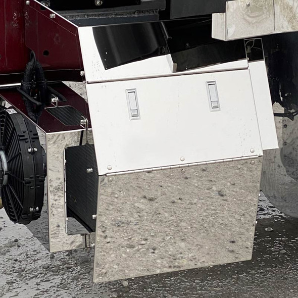 Thermo King TriPac Evolution APU Stainless Steel Covers By Brunner Fabrication - Default