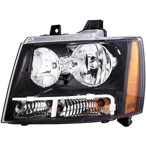 Chevrolet Avalanche Tahoe Suburban Headlight Assembly (Driver)