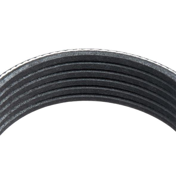 Peterbilt Dodge GMC Serpentine Belt 01-29729-330 By Goodyear Belts Close Up