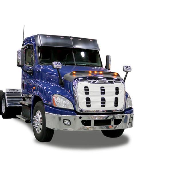 Freightliner Cascadia Lightshield Hood Protector (2018 & Older Body Style)