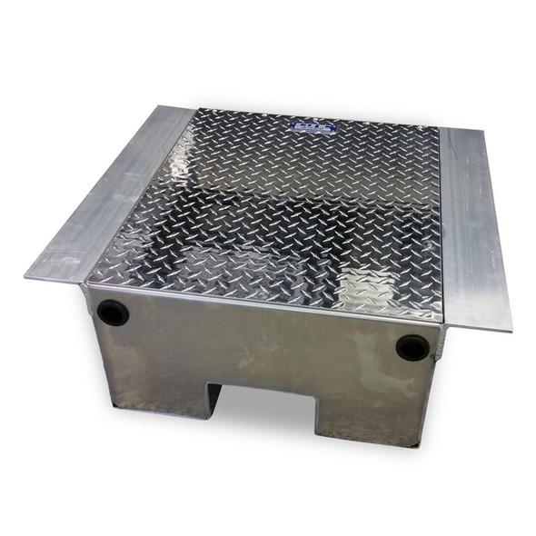 Aluminum Diamond Plate Battery Box - Default