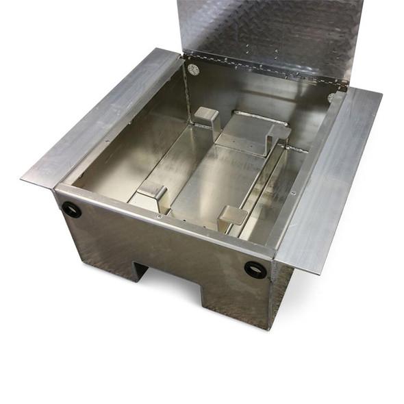 Aluminum Diamond Plate Battery Box - 66291