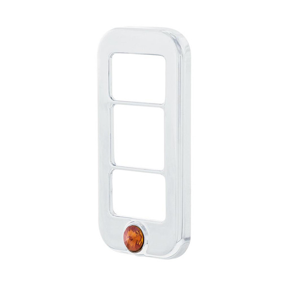 Freightliner Rocker Switch Cover With Copper Diamond (Side)