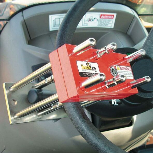Backhoe Anti-Theft Lock - Default