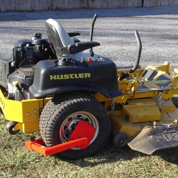 Heavy-Duty Wheel Anti-Theft Lock - Lawnmower