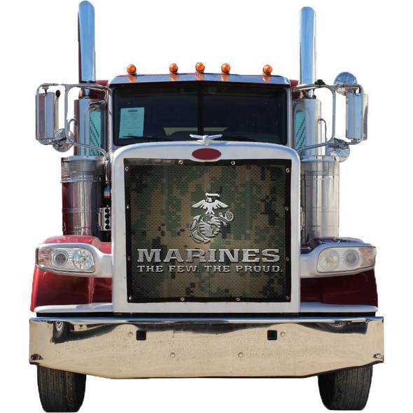 Marines Premium Bug Screen (Installed)