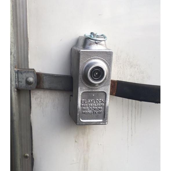Trailer Door Lever Anti-Theft Lock
