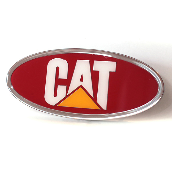 Peterbilt Caterpillar Logo Emblem (Red)