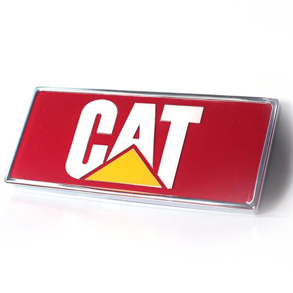Peterbilt Caterpillar Rectangular Logo Emblem (Red)