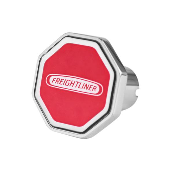 Freightliner Logo Tractor Trailer Air Brake Knob (Octagon, Red)