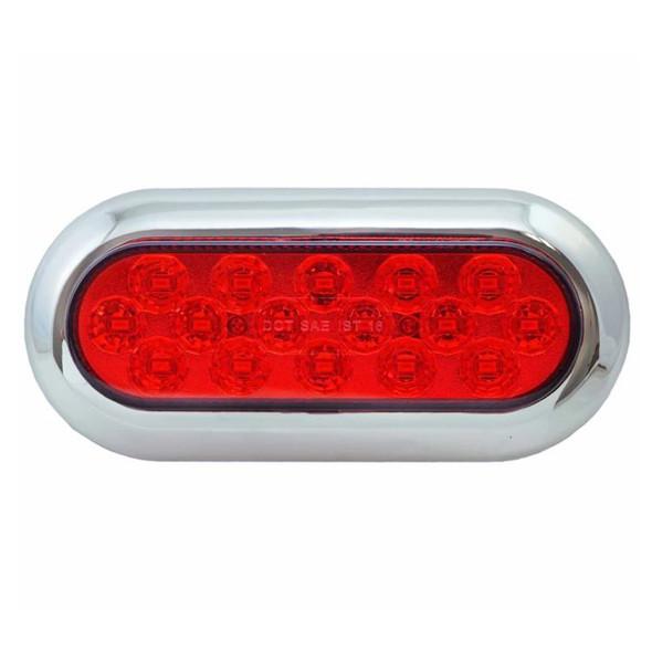 16 LED Surface Mount Stop Tail Turn Brake Light - Off