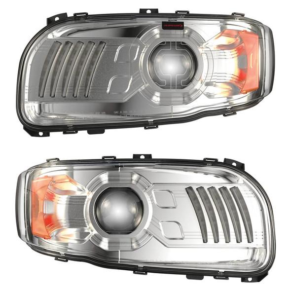 JW Speaker Peterbilt 388 389 367 567 Full LED Model 9600 Chrome Headlight - Default