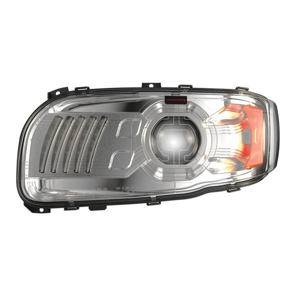 JW Speaker Peterbilt 388 389 367 567 Full LED Model 9600 Chrome Headlight - Driver Side