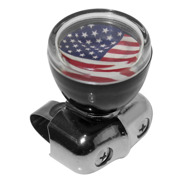 Customizable Plastic Steering Wheel Spinner Knob