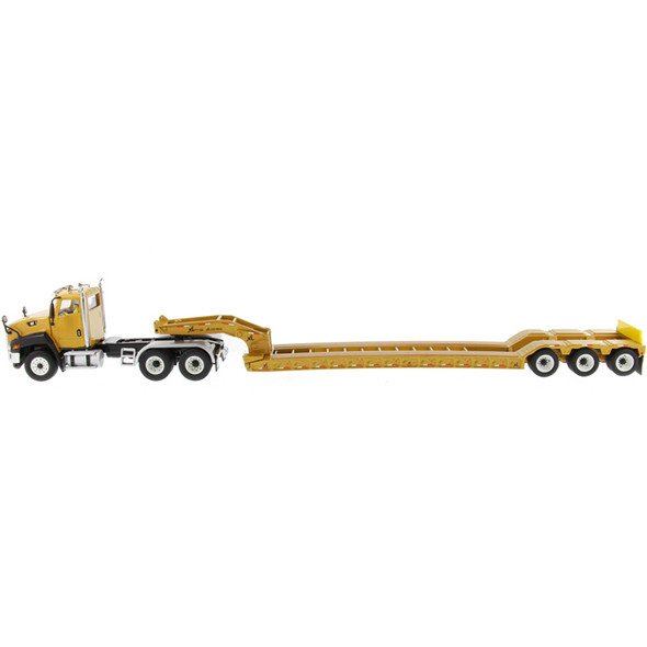 Caterpillar CT660 Day Cab With XL 120 Low-Profile HDG Lowboy Trailer Left View