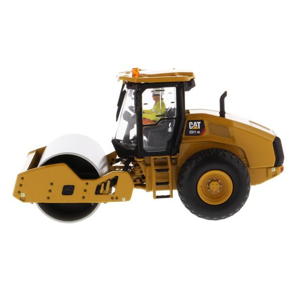 Caterpillar CS11 GC Vibratory Soil Compactor Replica Driver Side