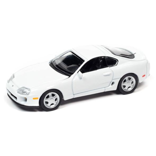 1993 Super White Toyota Supra Replica 1/64 Scale