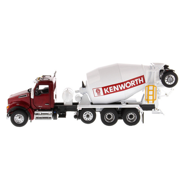 Kenworth T880 SBFA McNeilus Bridgemaster Concrete Mixer Driver View