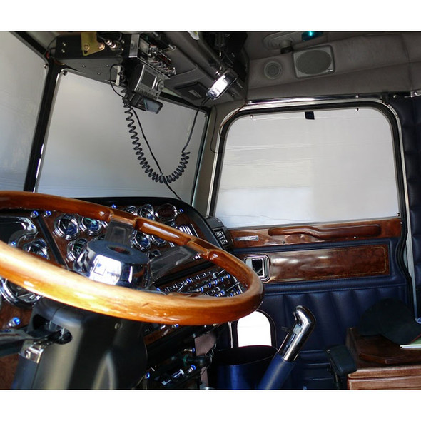 Peterbilt Economizer Window Covers - Windshield And Sides