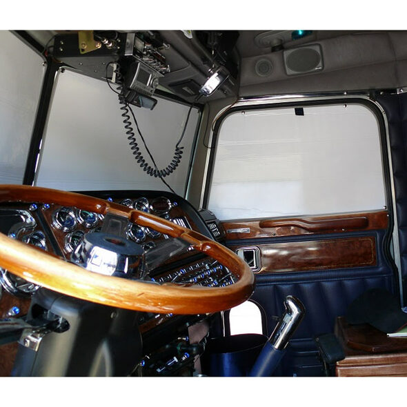 Volvo Economizer Window Covers - Windshield And Sides