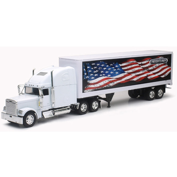 Freightliner Classic XL With Patriotic Graphics American Flag