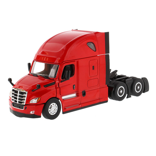 Freightliner Cascadia New Body Style With Sleeper Red
