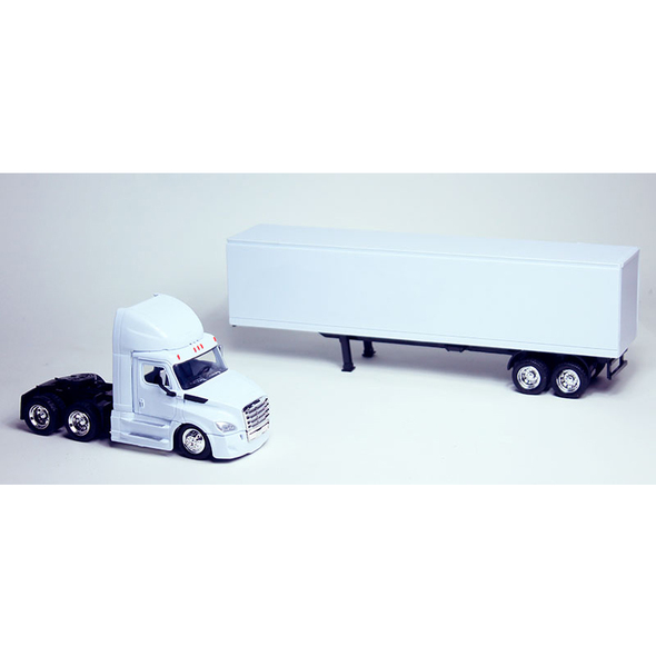 Freightliner Cascadia New Body Style Day Cab With Trailer With Trailer Dettached