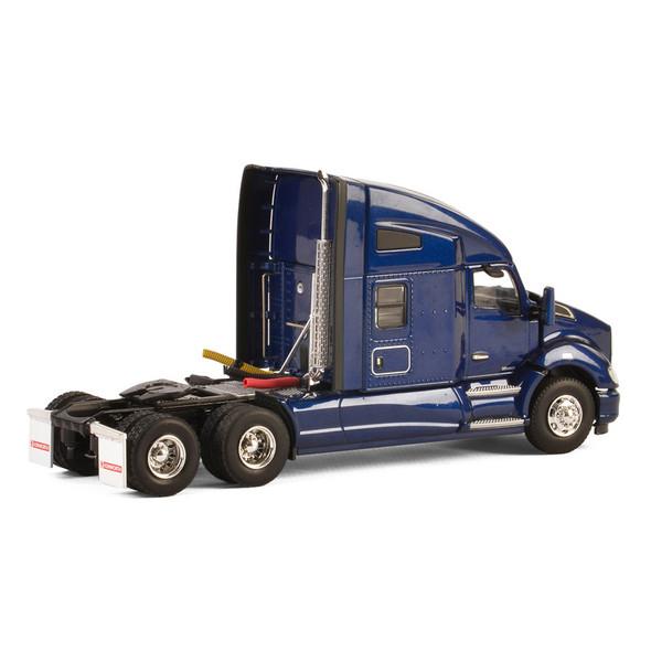 Kenworth T680 With Sleeper In Dark Blue Replica Back Of Truck