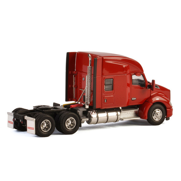 Kenworth T680 With Sleeper In Red Replica Back