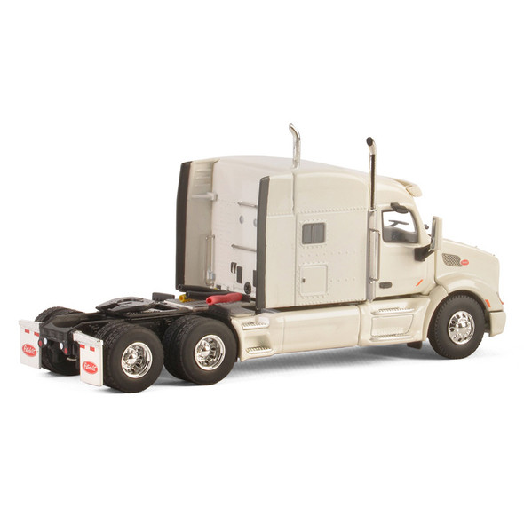 Peterbilt 579 With Sleeper In White Replica Rear