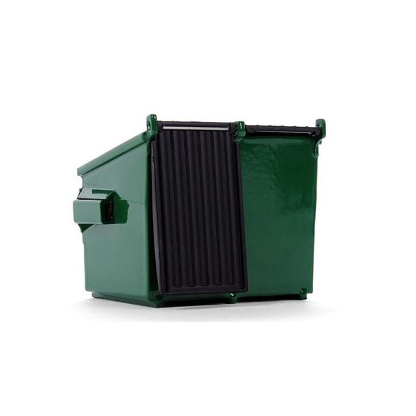 Waste Management Trash Bin Replica Back View