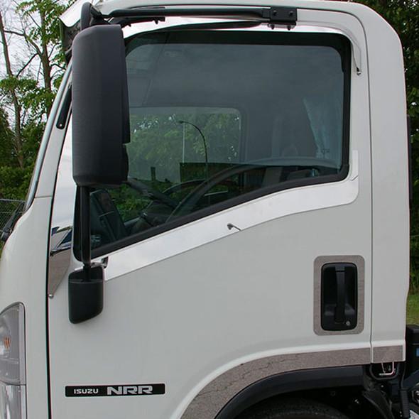 Isuzu Stainless Steel Door Under Window Trim - Default