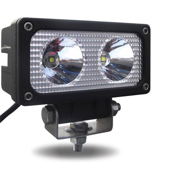 Mini Rectangular High Powered LED Spot Work Lamp